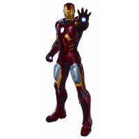 RoomMates Avengers Iron Man Peel & Stick Giant Wall Decal ...