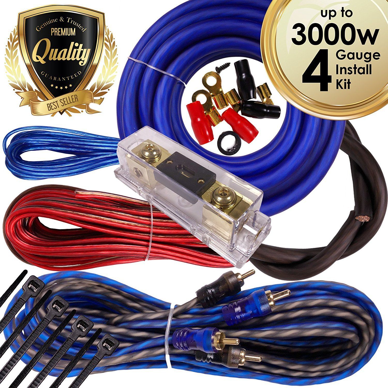 small resolution of complete 3000w 4 gauge car amplifier installation wiring kit amp pk2 cheap car amplifier wiring kit available in various specifications