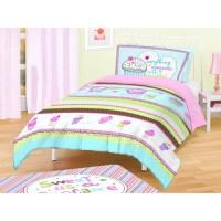 American Kids Cupcakes Bedding Comforter Set - Walmart.com