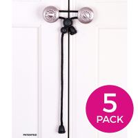 Amerteer Baby Safety Cabinet Locks For Handles, 5 Pack ...