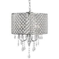 Best Choice Products BCP Crystal Chandelier Lighting ...