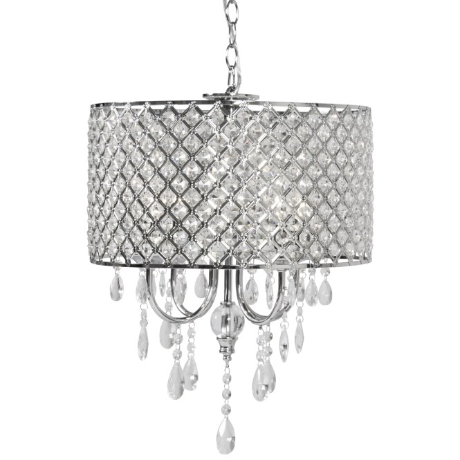 Bcp Crystal Chandelier Lighting Pendant Glass Ceiling Lamp Center Light