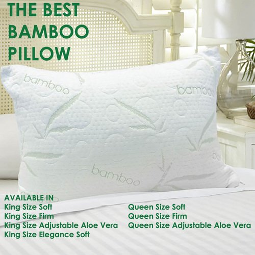 the best bamboo pillow king firm