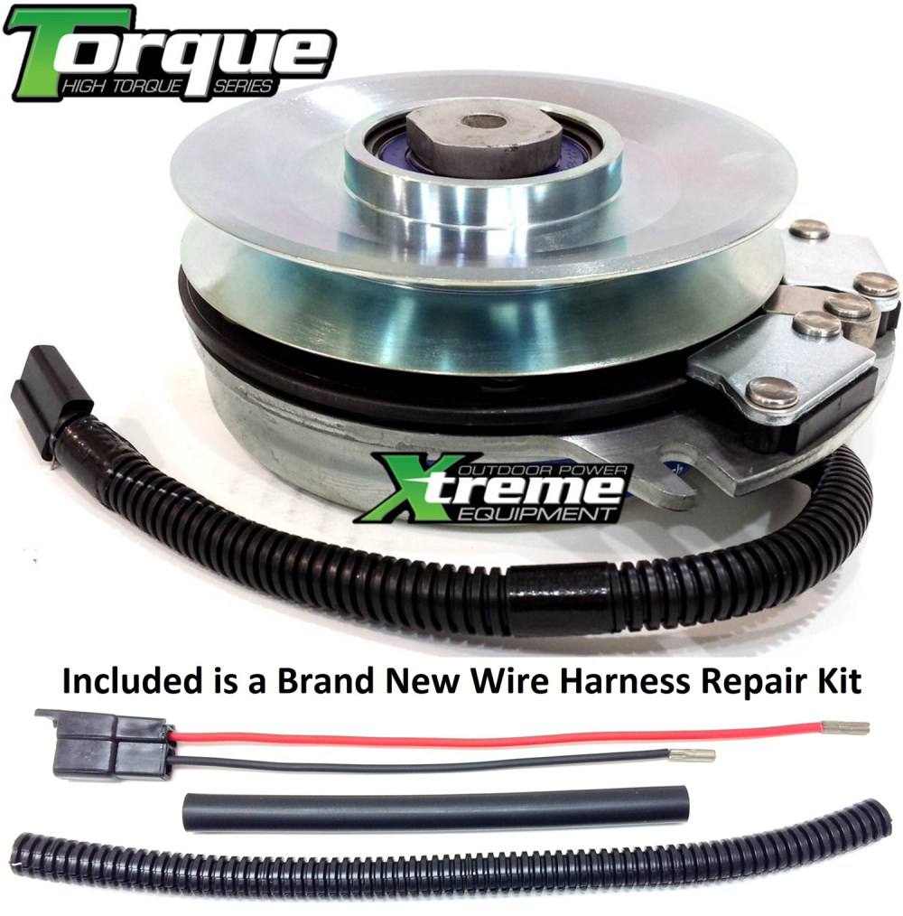 medium resolution of bundle 2 items pto electric blade clutch wire harness repair kit replaces warner 5218 241 pto clutch upgraded bearings w wire harness repair kit