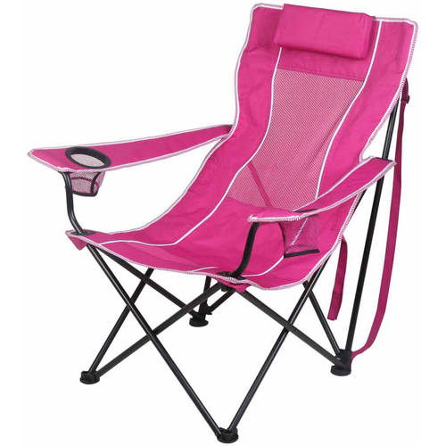 ozark trail oversized mesh chair office quotes lounge camping with cup holders - walmart.com