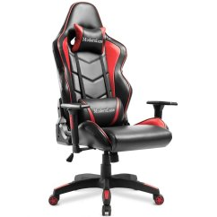Office Chairs With Back Support Operating Room Modernluxe Gaming Chair High Racing Style Lumbar Ergonomic Headrest Walmart Com