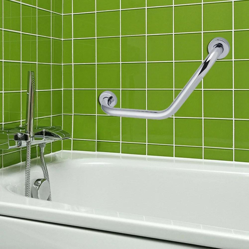ejoyous epaissir la barre de securite de baignoire de salle de bains en acier inoxydable rail de securite pour baignoire douche wc barre de maintien