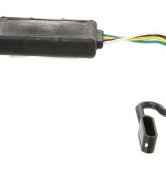 118269 4 flat tow harness wiring package with circuit protected modulite hd module installed equipped for vehicles wiring harness wiring vehicle trailer  [ 1500 x 740 Pixel ]