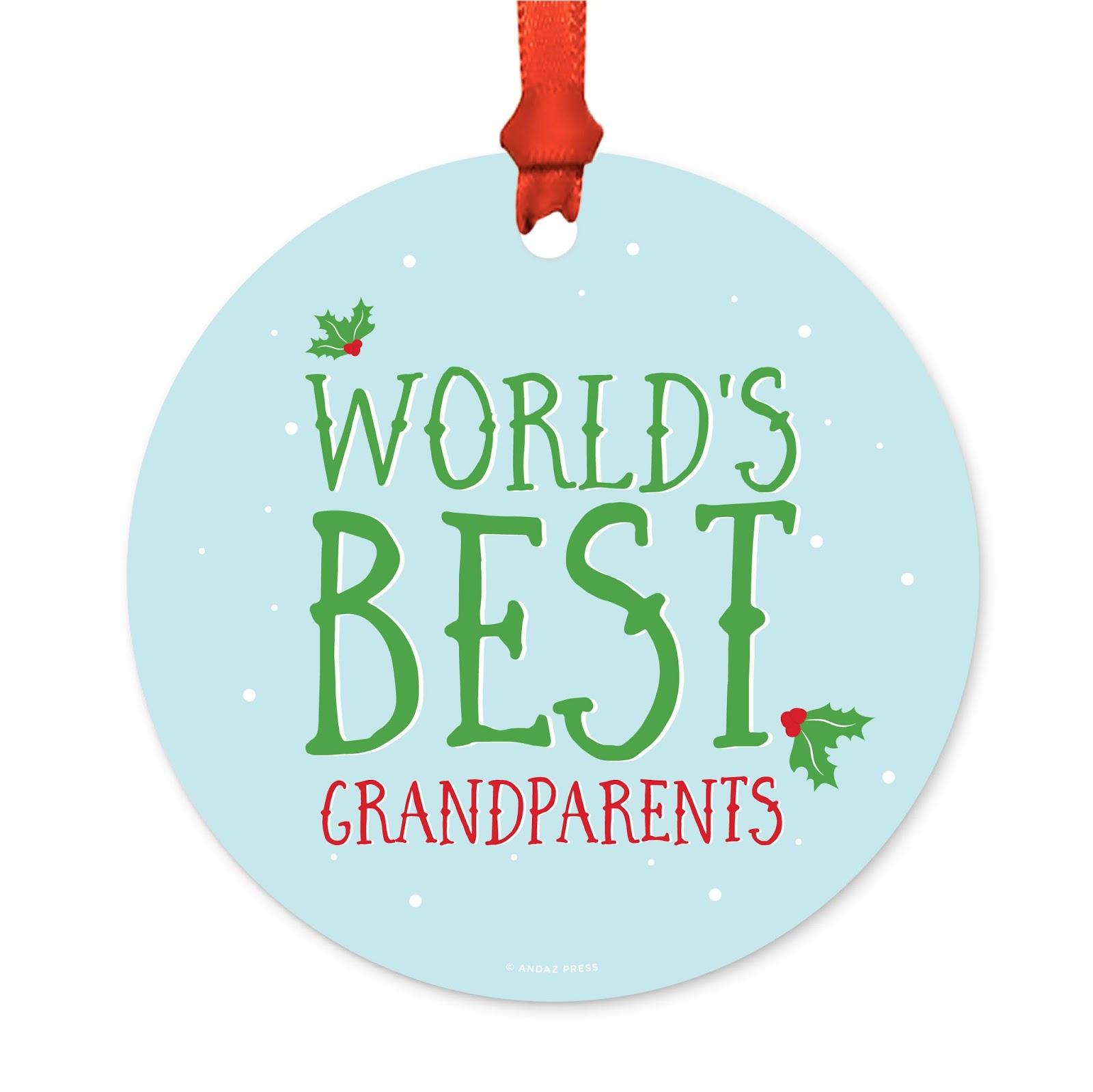 Grandparent Christmas Ornament