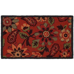 Mohawk Kitchen Rugs Nook Tables Frannie Jacobean Woven Rug 1 6 X 2 Walmart Com Departments