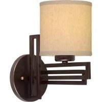Forte Lighting 1-Light Bracket Wall Sconce - Walmart.com