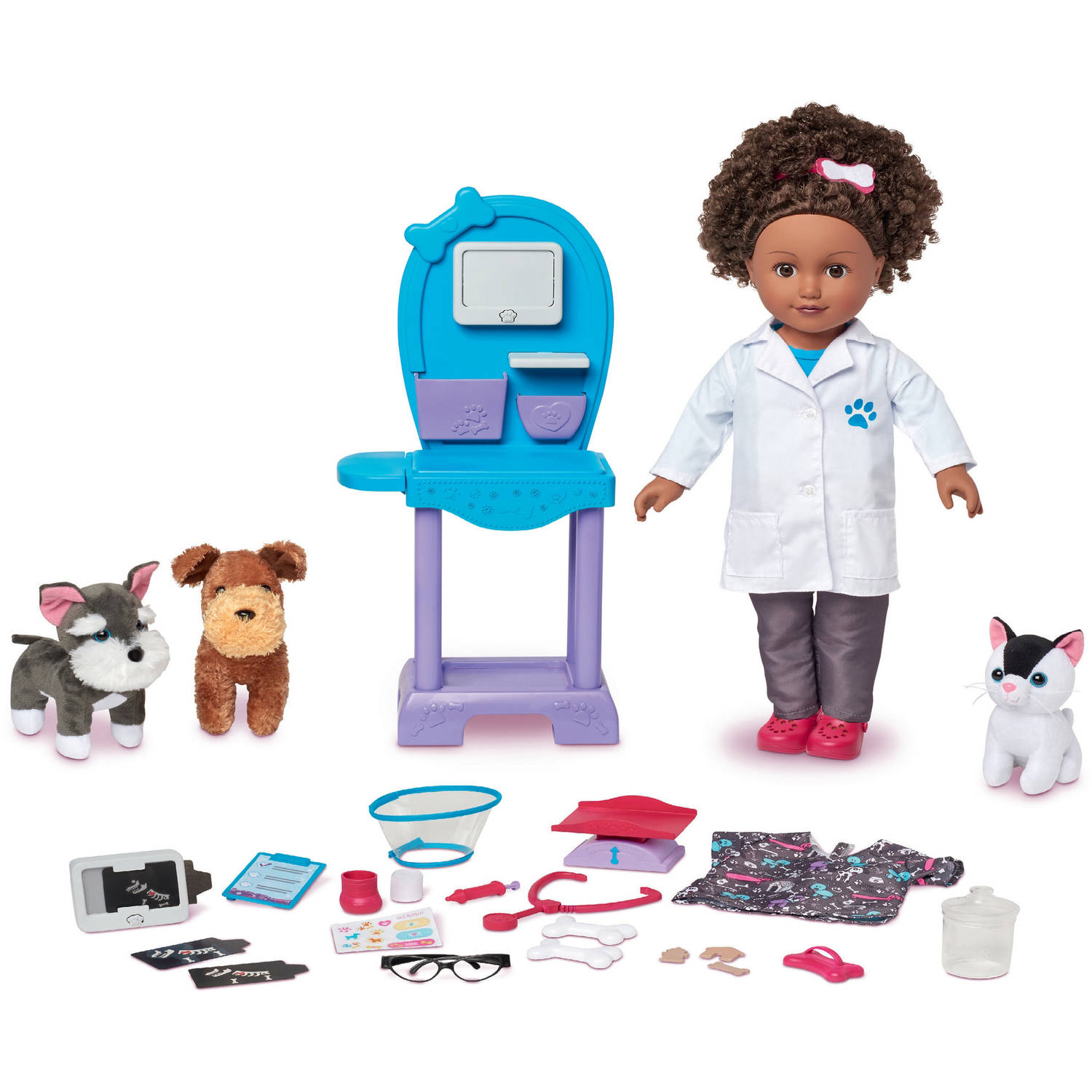 My Life As 18 Doll For The Year Vet Doll Play Set