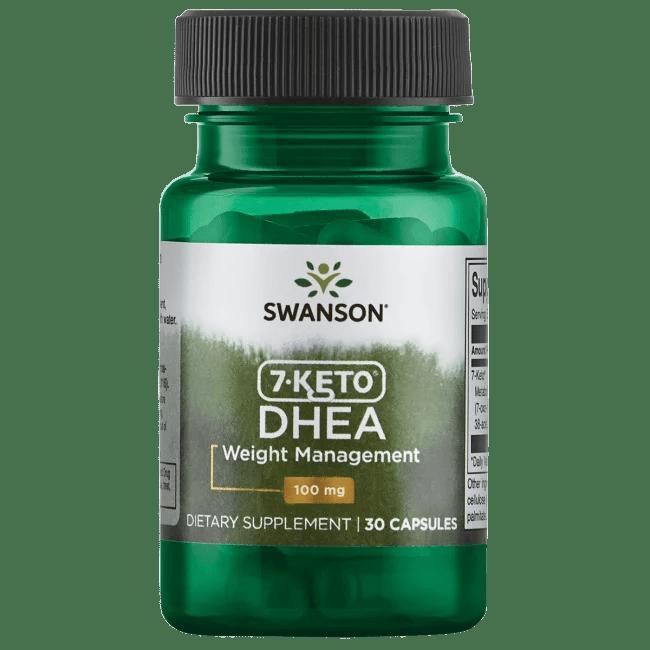 Swanson 7-Keto Dhea 100 mg 30 Capsules - Walmart.com - Walmart.com