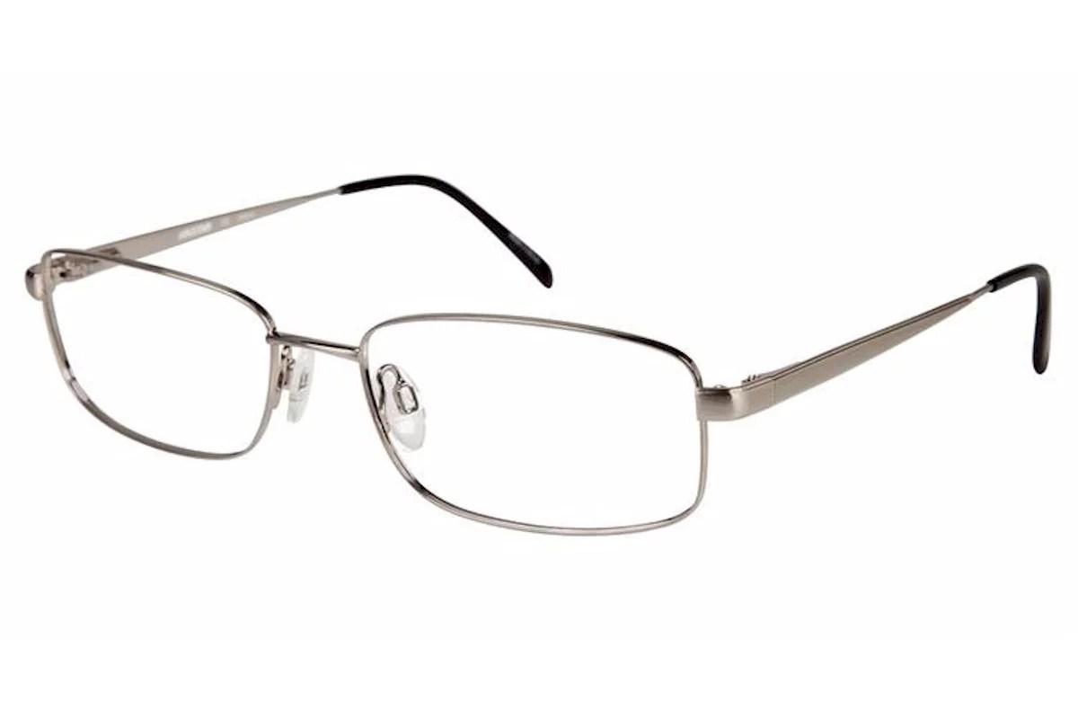 Aristar By Charmant Eyeglasses AR16212 AR/16212 524 Silver