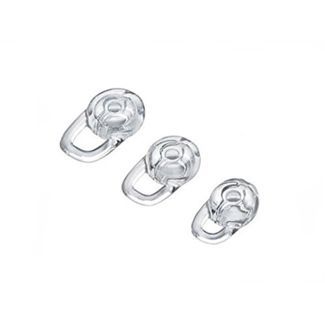3 clear small medium large ear gels for aliph jawbone icon