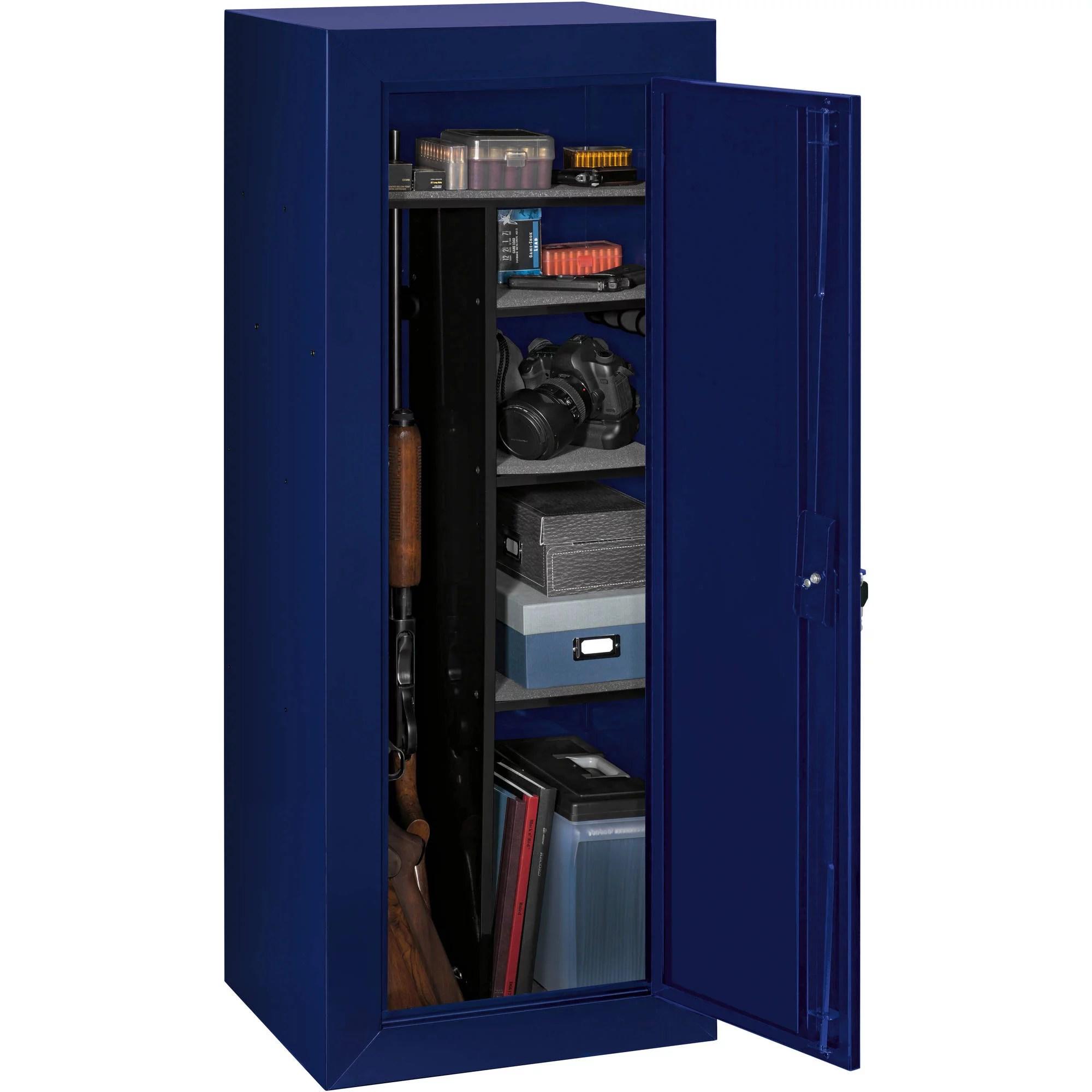 steel gun cabinet walmart