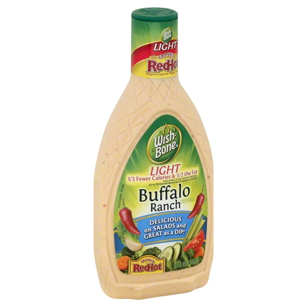 WishBone Light Buffalo Ranch Salad Dressing 16 fl oz