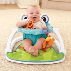 Sit Me Up Chair For Babies Chairs Folding Metal Fisher Price Floor Toddler Baby Vibrating Frog Bouncers Toy Seat