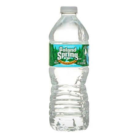 Poland Spring Natural Spring Water, 16.9 Fl Oz, 24 Count