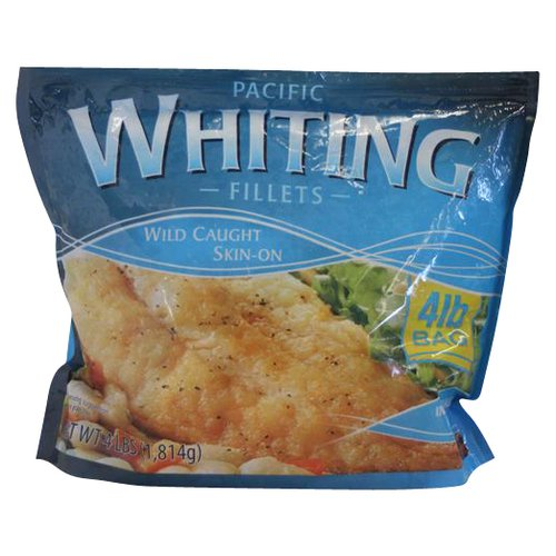 Whiting Fillets Skin On 4 lb Walmartcom