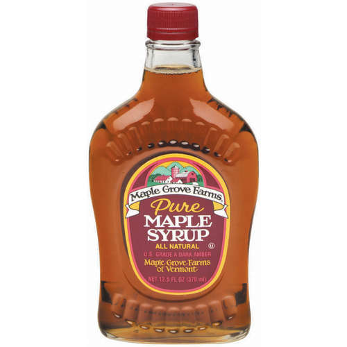 Maple Grove Farms Pure Dark Amber Maple Syrup 125 oz