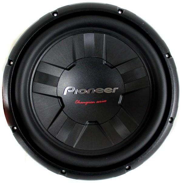 Pioneer 12 1400 Watt Subwoofer Car Audio Power 4-ohm Svc Ts-w311s4