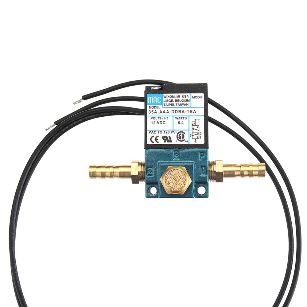 medium resolution of 3 port dc 12v 5 4 w electronic boost control solenoid valve for ecu pwm 35a aaa ddba 1ba walmart com