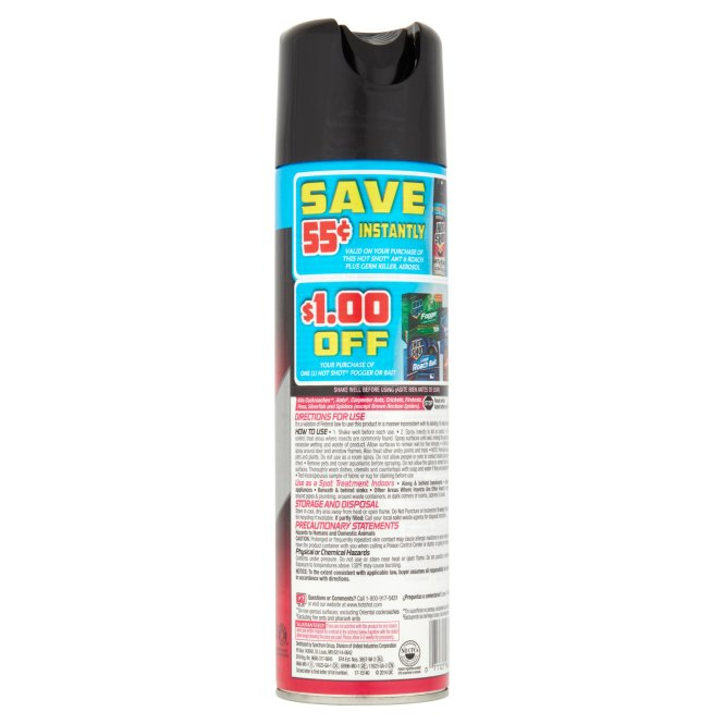 Garden Lawns Insecticides Insect Control Outdoor Indoor Ant Roach Spectrum Hg 96301 Hot Shot Killer