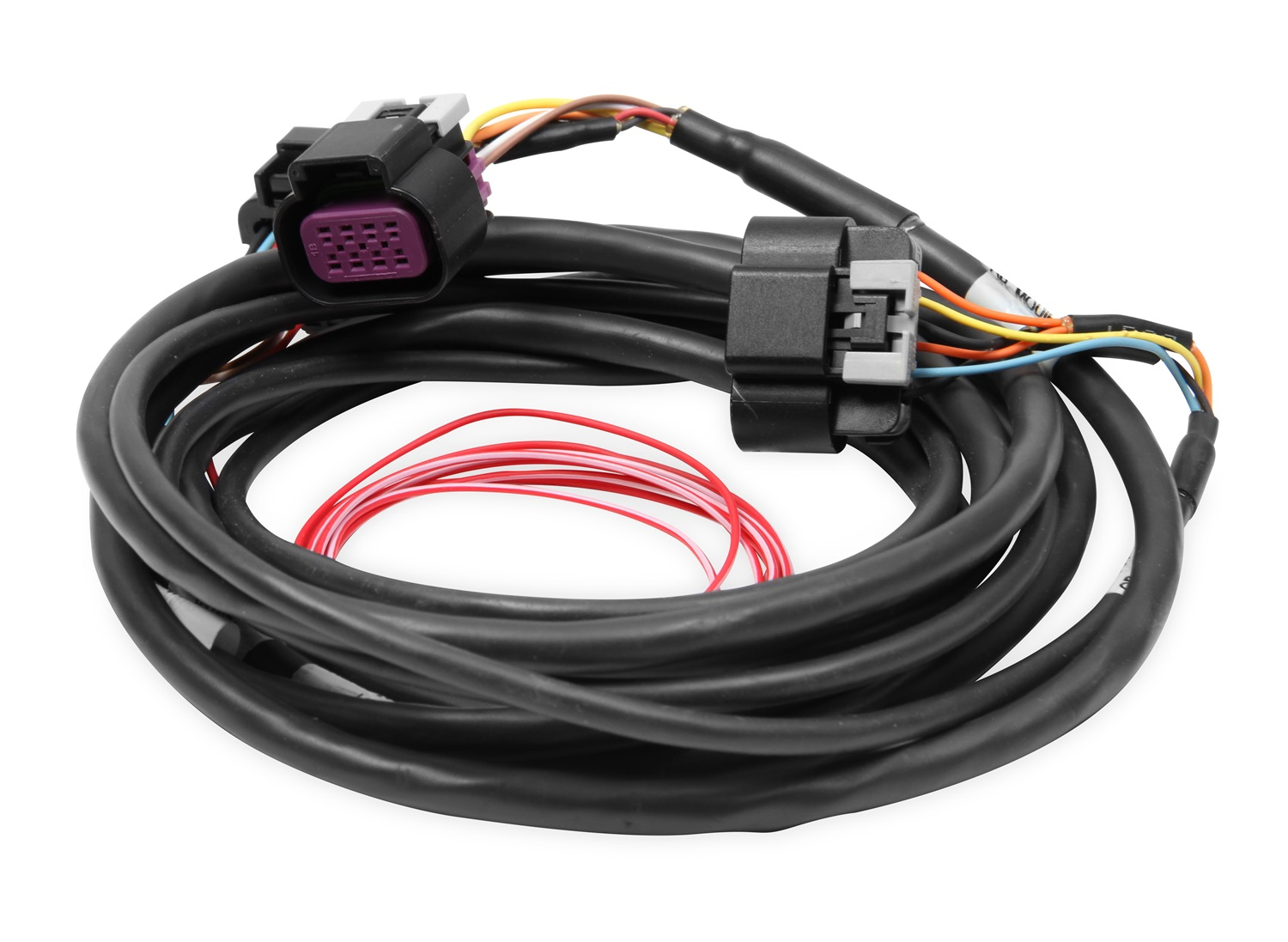 hight resolution of holley performance 558 429 dominator efi gm drive by wire harness rh walmart com gm wiring harness connectors ez wiring 21 circuit harness