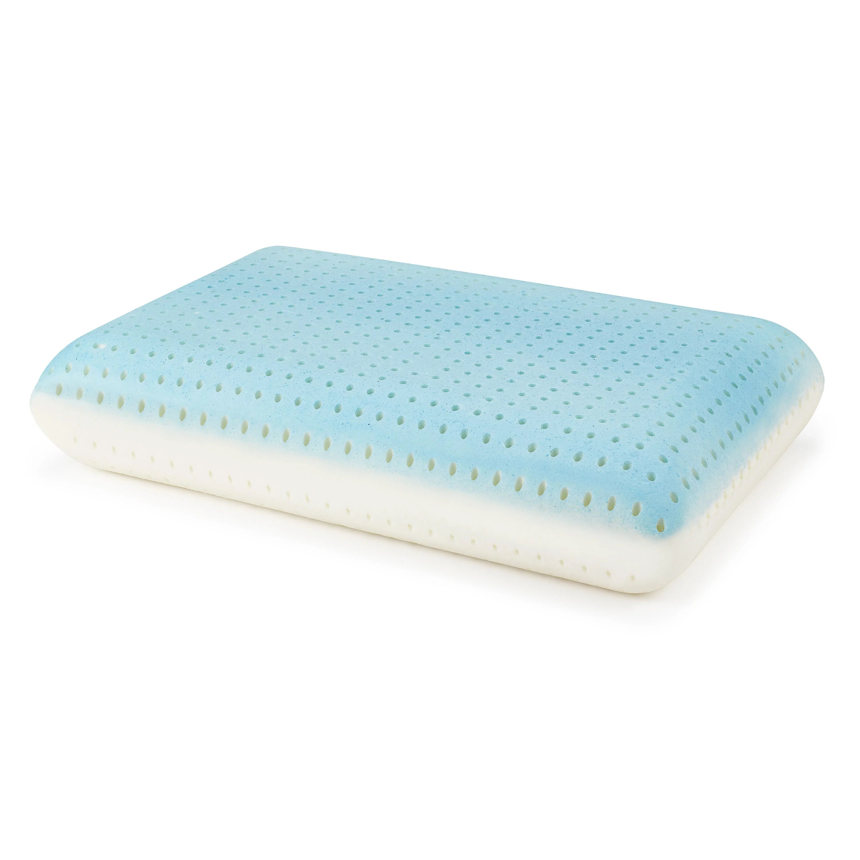 beautyrest silver aquacool memory foam pillow with removable cover walmart com
