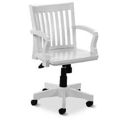 Swivel Chair Walmart White Kitchen Table And Chairs Banker's Chair, - Walmart.com