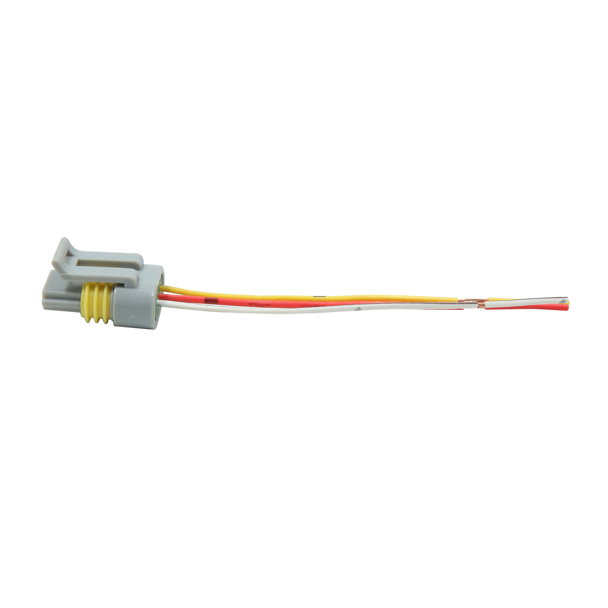 hight resolution of 2pcs dc 12v 3 wires gray electric motor wiring harness connector for car vehicle