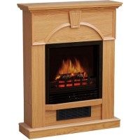 "Electric Fireplace with 28"" Mantel - Walmart.com"