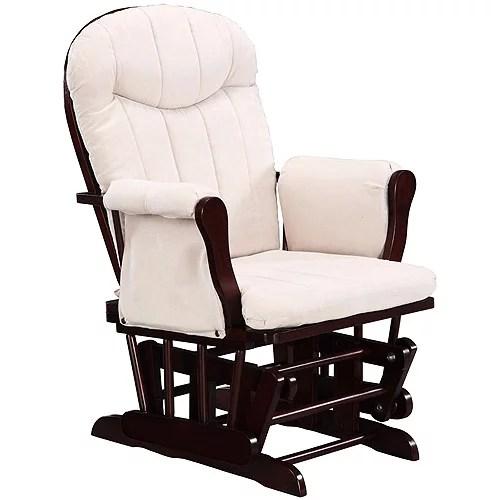 dorel rocking chair modern side chairs glider rocker cherry walmart com