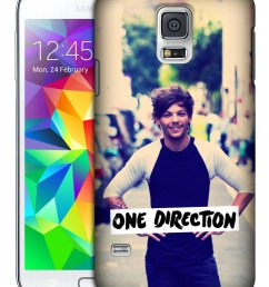 official one direction louis photo filter hard back case for samsung phones 1 walmart com [ 1200 x 1599 Pixel ]