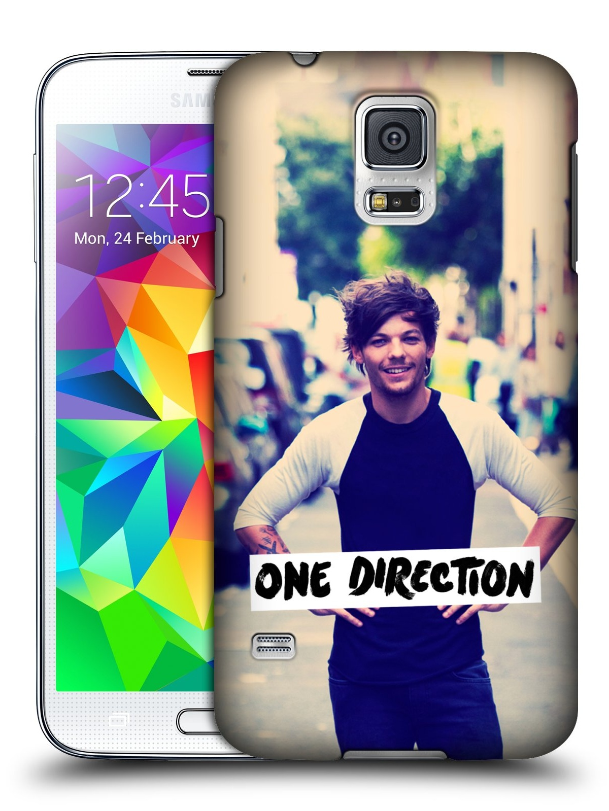 hight resolution of official one direction louis photo filter hard back case for samsung phones 1 walmart com