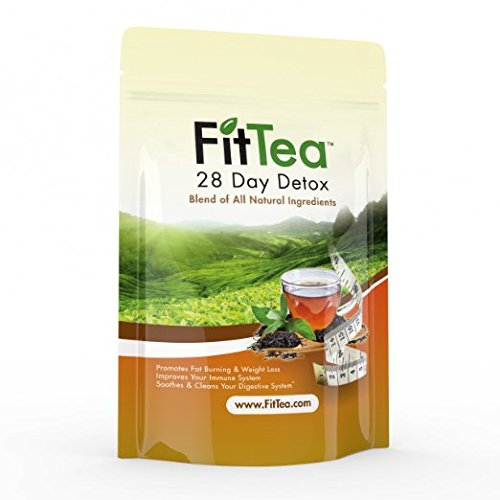 Fit Tea 28 Day Detox Herbal Weight Loss Tea - Natural ...