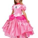 2020 Princess Peach Deluxe Child Costume Walmart Com Walmart Com