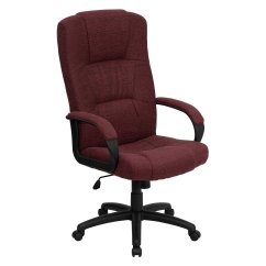 Office Chair High Back Barrel Executive Fabric Multiple Colors Walmart Com