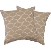 Trellis Zipper Pillow Cover