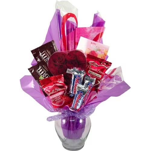 Valentines Candy Bouquet 10 Pc