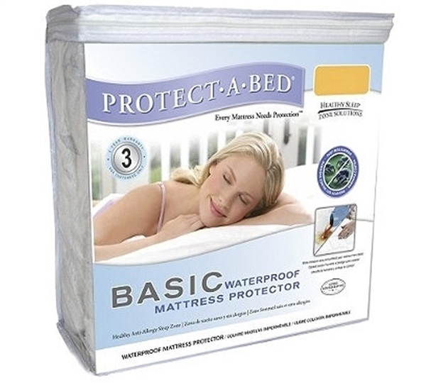 Basic Waterproof Twin XL Mattress Protector ProtectABed