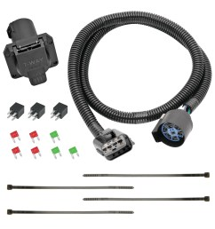 13 c acadia enclave traverse replacement oem tow package with 7way round wire harness replacement auto part easy to install walmart com [ 1500 x 1500 Pixel ]