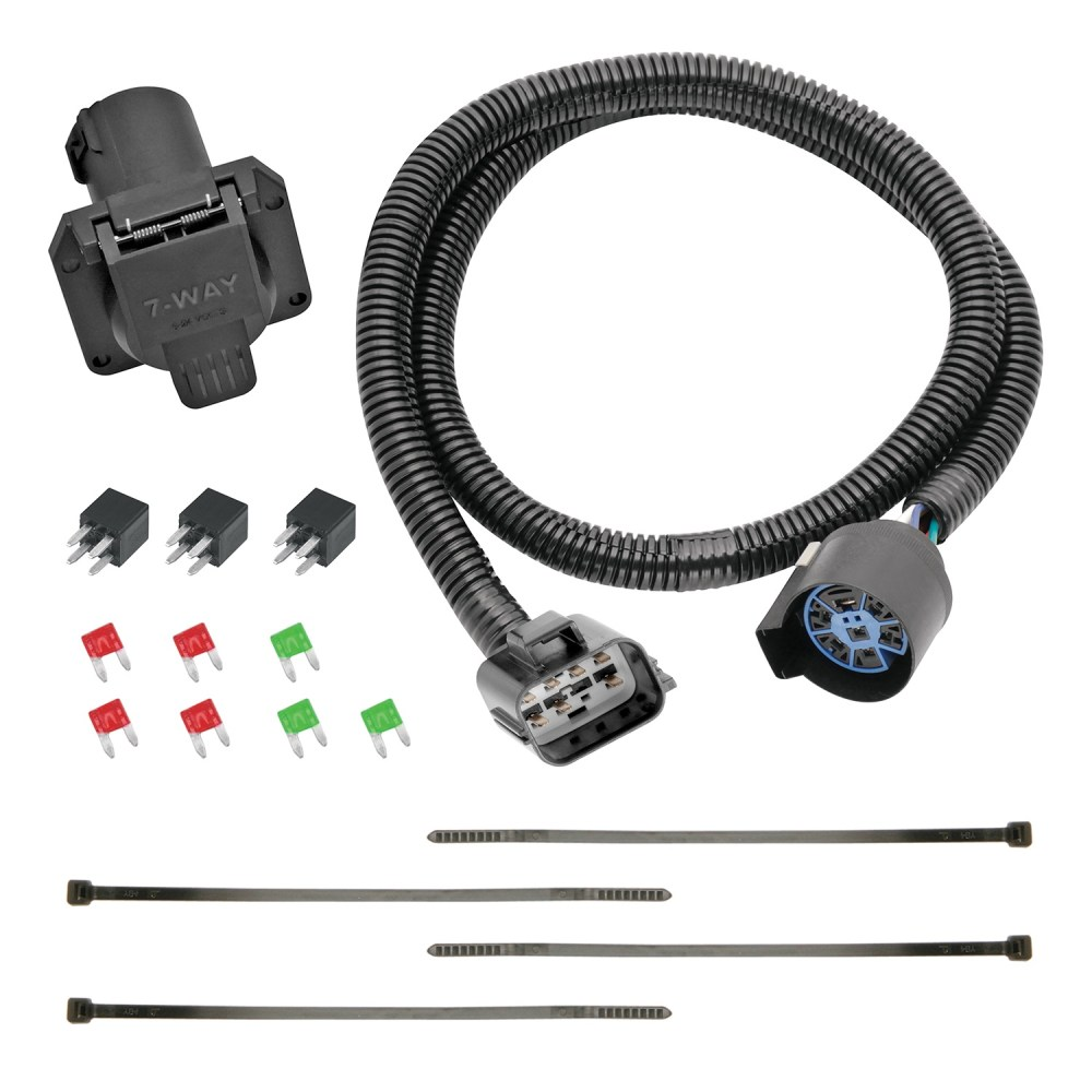 medium resolution of 13 c acadia enclave traverse replacement oem tow package with 7way round wire harness replacement auto part easy to install walmart com