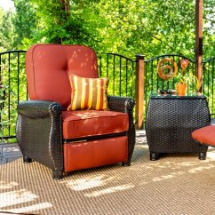 Recliner Patio Chair Outdoor Rocking Chairs Made In Usa La Z Boy Breckenridge With Cushion Walmart Com