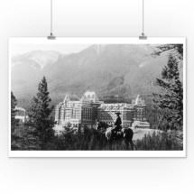 Banff Alberta Canada - Exterior View Of Springs