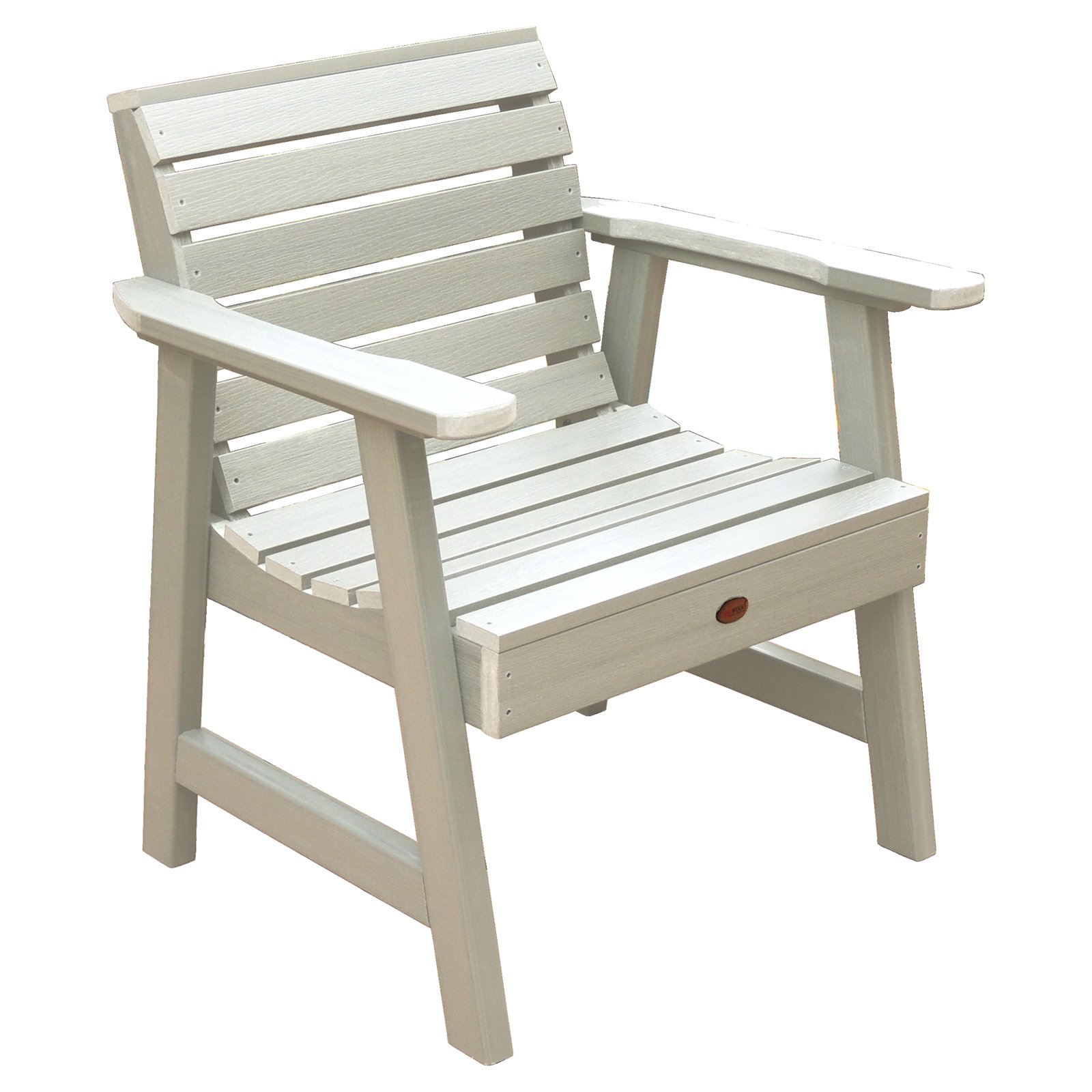 Plastic Lounge Chair Highwood Weatherly Recycled Plastic Garden Lounge Chair