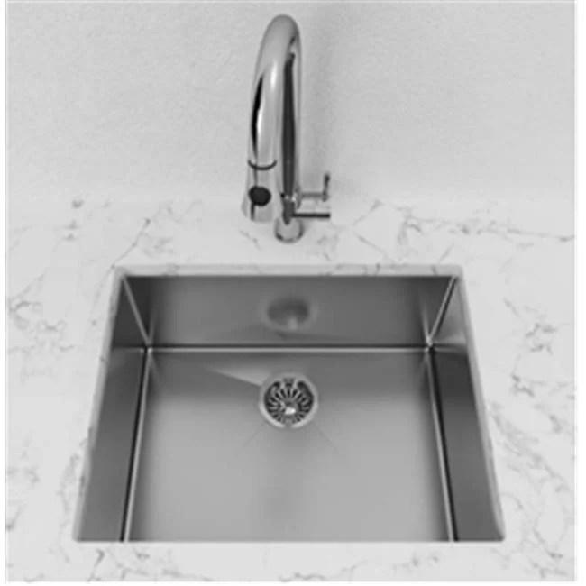 stainless steel undermount kitchen sinks planner cantrio koncepts kss 112 single bowl sink
