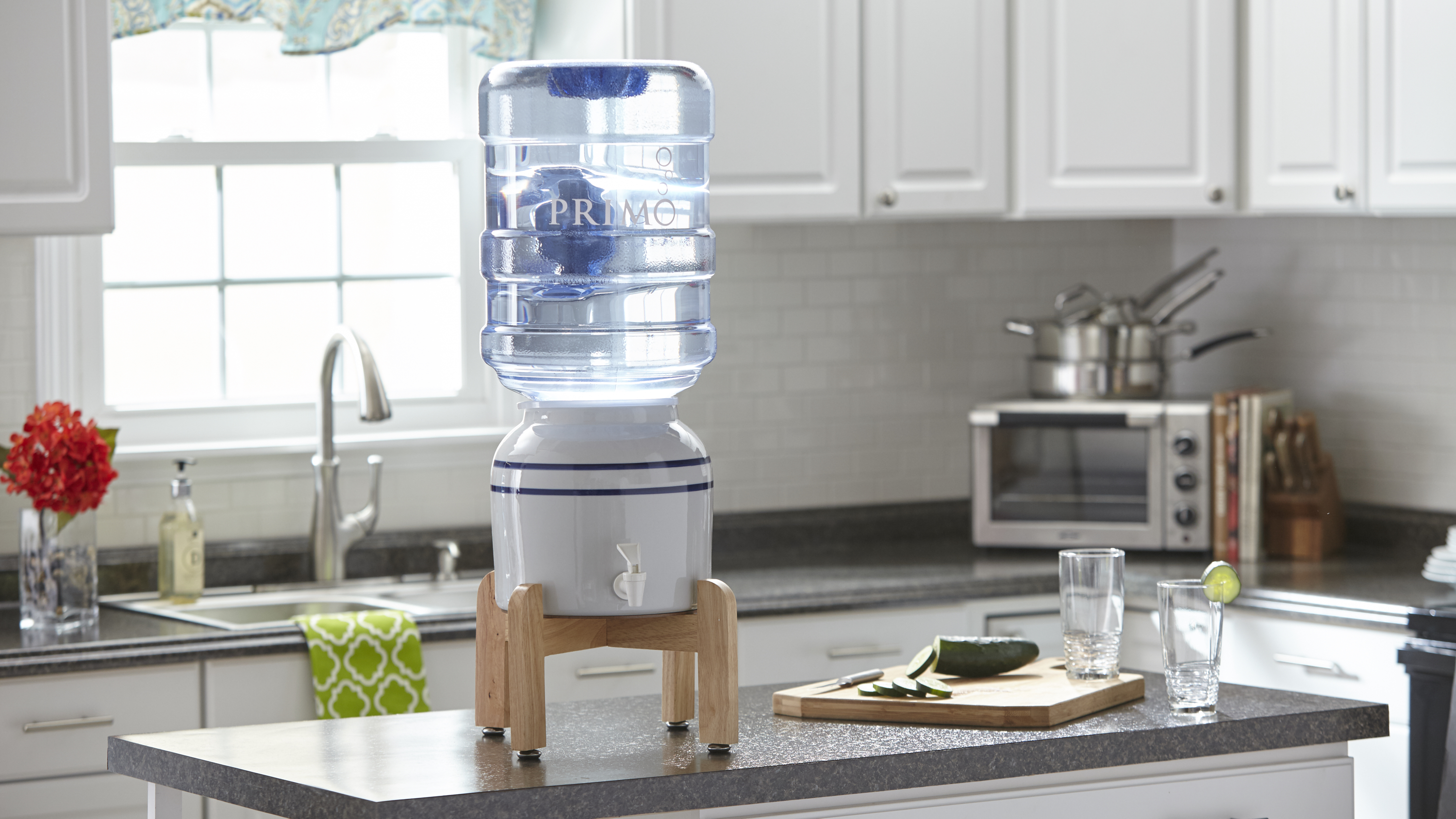 dispenser kitchen moving island primo ceramic water with stand model 900114 walmart com