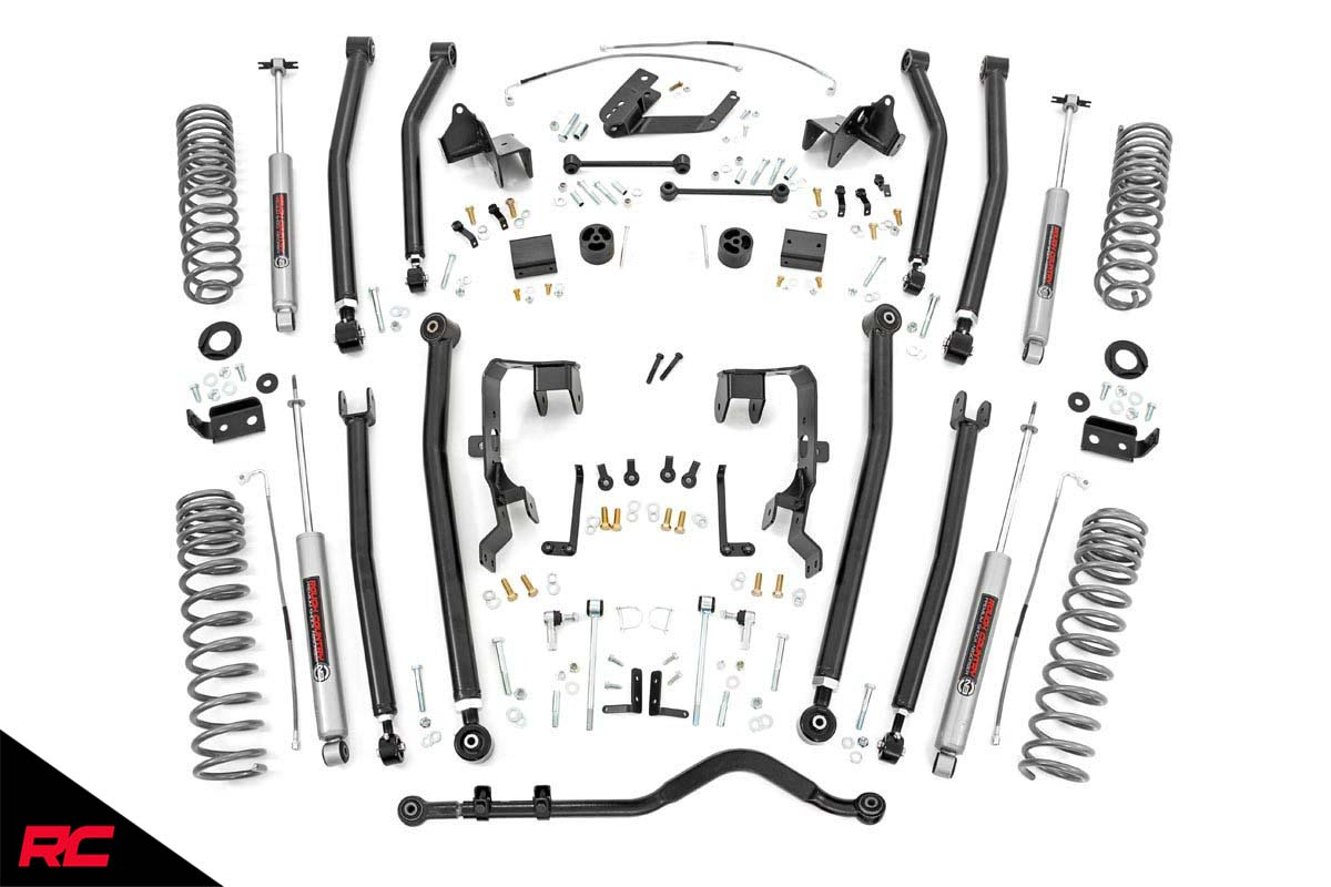 Rough Country 4 Lift Kit Fits Jeep Wrangler